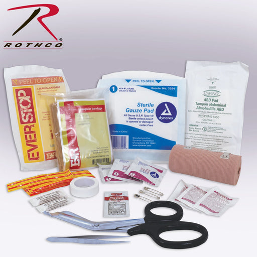 Rothco Tactical Trauma First Aid Kit Contents | Luminary Global