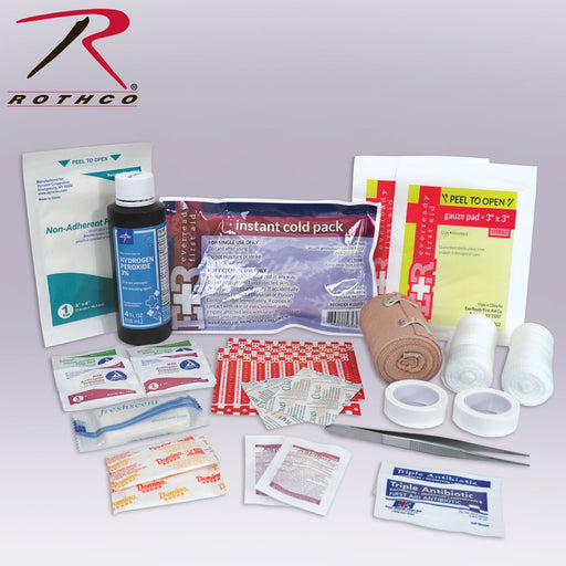 Rothco Tactical First Aid Kit Contents | Luminary Global