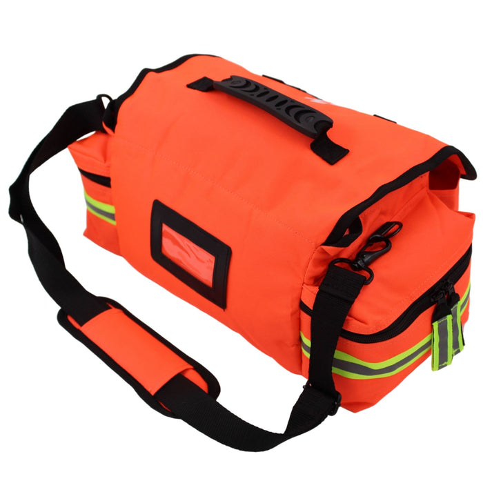 Luminary Global Trauma Bag Stocked Medium Modular Reflective EMS-EMT Medic Bug Out Bag First Aid Kit for Home Professionals First Responders Preppers Outdoorsman