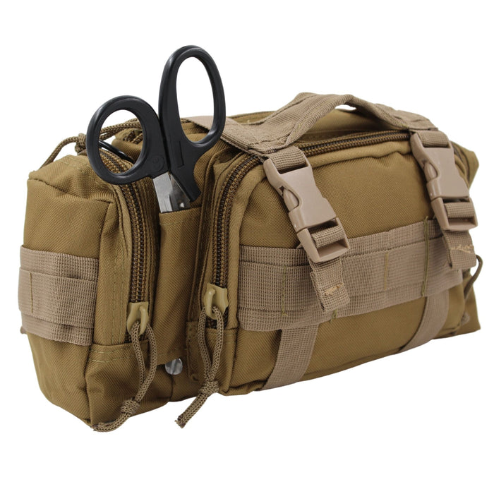 Luminary OFAK Operator-Fast-Access-Kit Stocked First Aid Kit Grab & Go Bag for Home Range Vehicle Tactical Vest or Duty Belt