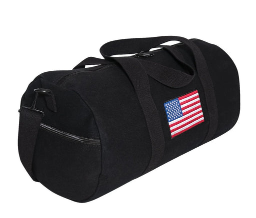 Rothco U.S. Flag Canvas Shoulder Duffle Bag | Luminary Global