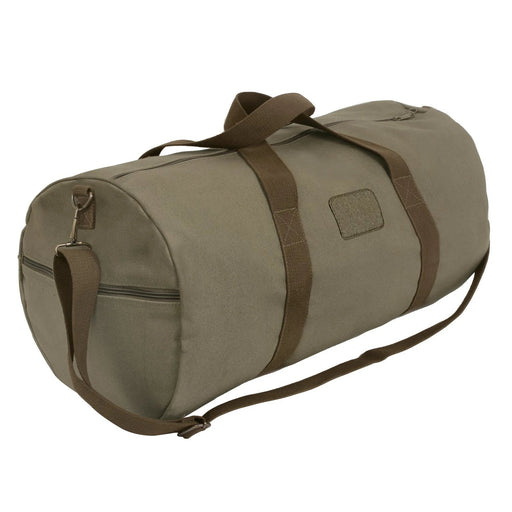Rothco Two-Tone Shoulder Duffle With Loop Patch | Luminary Global