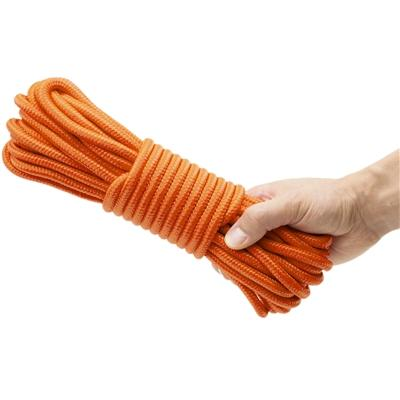 3/8 inch x 50' Rope, Orange - Emergency Zone