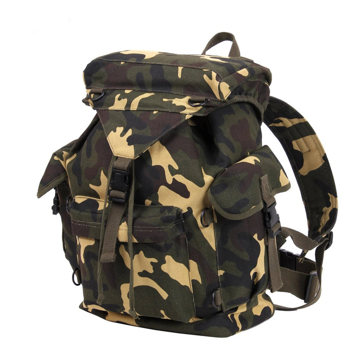 Rothco Canvas Outdoorsman Rucksack | Luminary Global