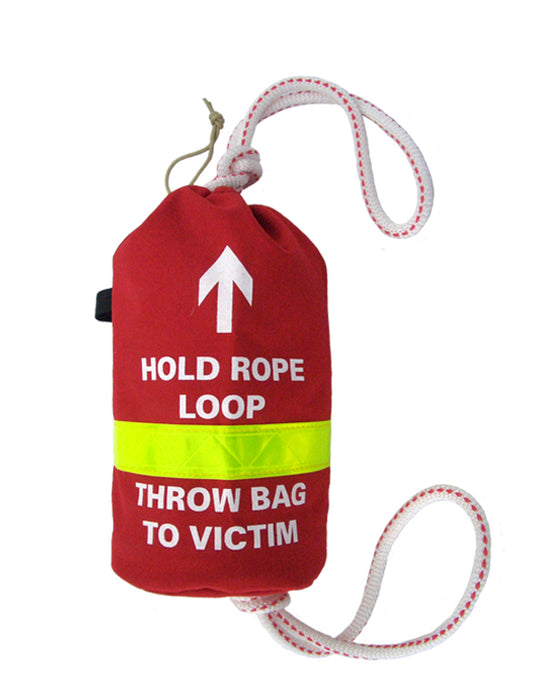 Water Rescue Throw Bag with 75 Ft. Rope - R&B Fabrications