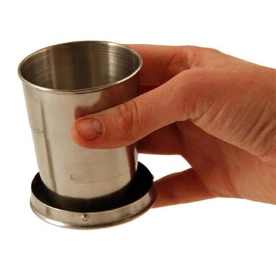 Collapsible Stainless Steel Cup - Emergency Zone