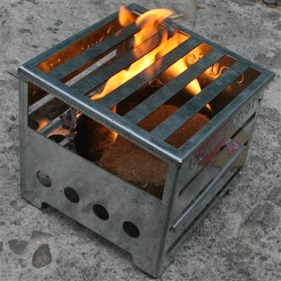 Box Stove with 5 Fire Discs - Emergency Zone