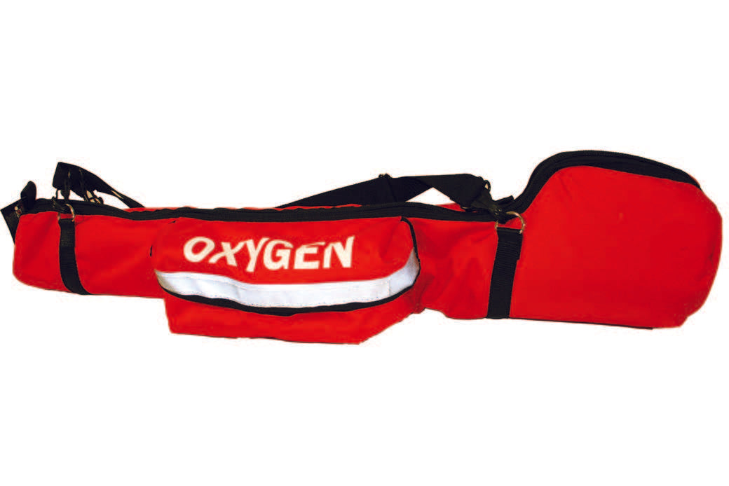 Portable Oxygen Cylinder Bag with Padded Head - R&B Fabrications