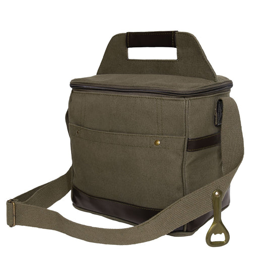 Rothco Canvas Insulated Cooler Bag Olive Drab