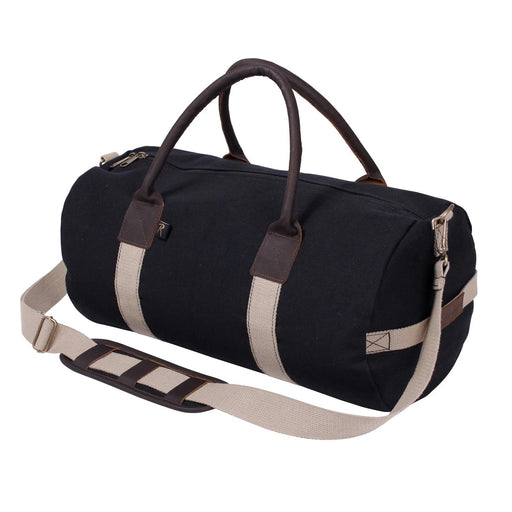 Rothco Canvas & Leather Gym Duffle Bag | Luminary Global