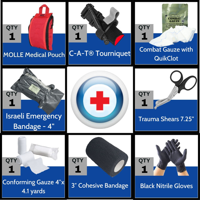 Elite First Aid Patrol Trauma Kit - Professional IFAK