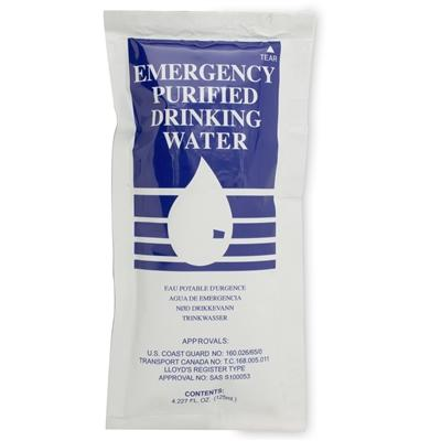 SOS Water Pouches-4.2 oz - Emergency Zone
