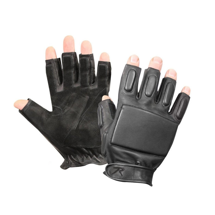 Rothco Tactical Fingerless Rappelling Gloves | Luminary Global