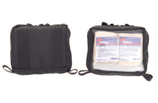 Inside MOLLE Pouch Clear Front - R&B Fabrications - Luminary Global