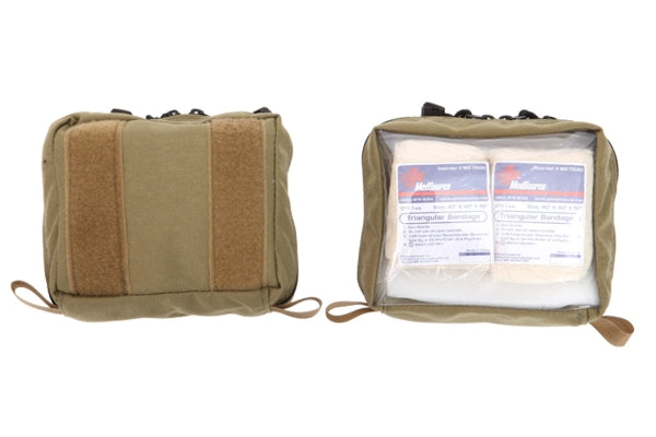 Inside MOLLE Pouch Clear Front - R&B Fabrications