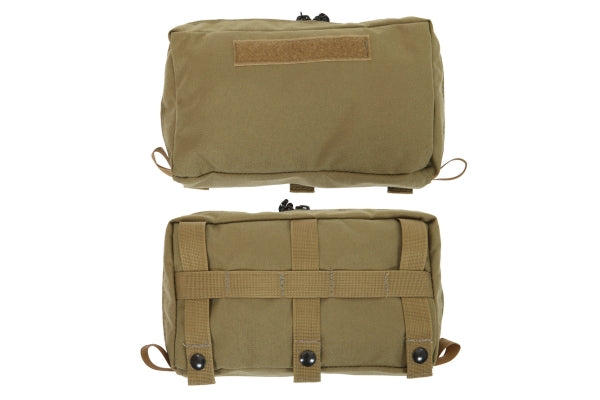 MOLLE Pouch - Front Top with Zipper - R&B Fabrications