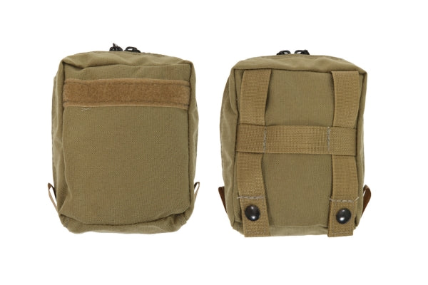 5X6 MOLLE Pouch Front Pocket Zipper - R&B Fabrications
