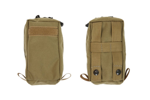 3.5 X 6 Small side MOLLE Pouch with Zipper - R&B Fabrications