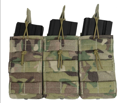 Rothco MOLLE Open Top Triple Mag Pouch | Luminary Global