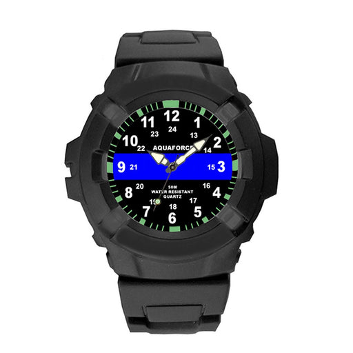 Aquaforce Thin Blue Line Watch - Luminary Global