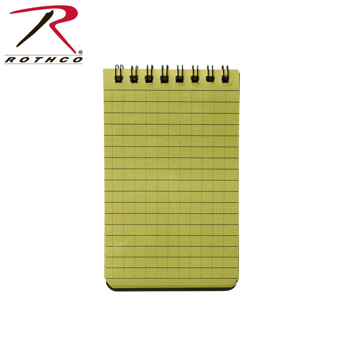 Rothco Green All Weather Waterproof Notebook