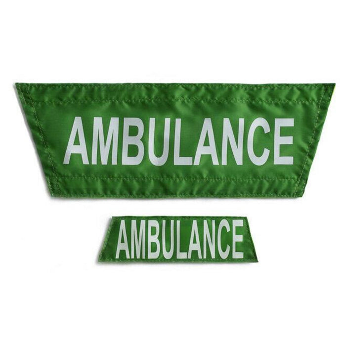 StatPacks G3 Safety Vest Pre-Printed Name Plates – EMS – Fire – Police – Ambulance