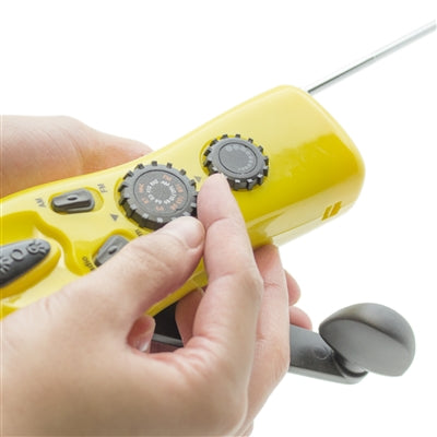Yellow Dynamo Radio/Flashlight/Charger - Emergency Zone