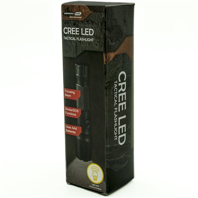 CREE Tactical Flashlight - Emergency Zone