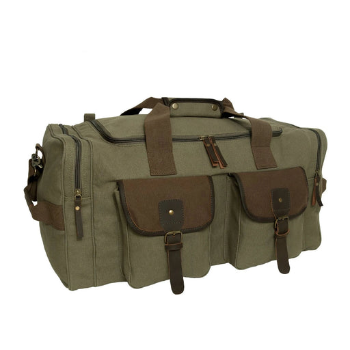 Rothco Long Journey Canvas Travel Bag - Olive Drab | Luminary Global