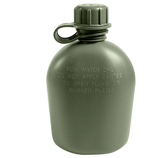 Genuine G.I. 3 Piece 1 Quart Plastic Canteen | Luminary Global