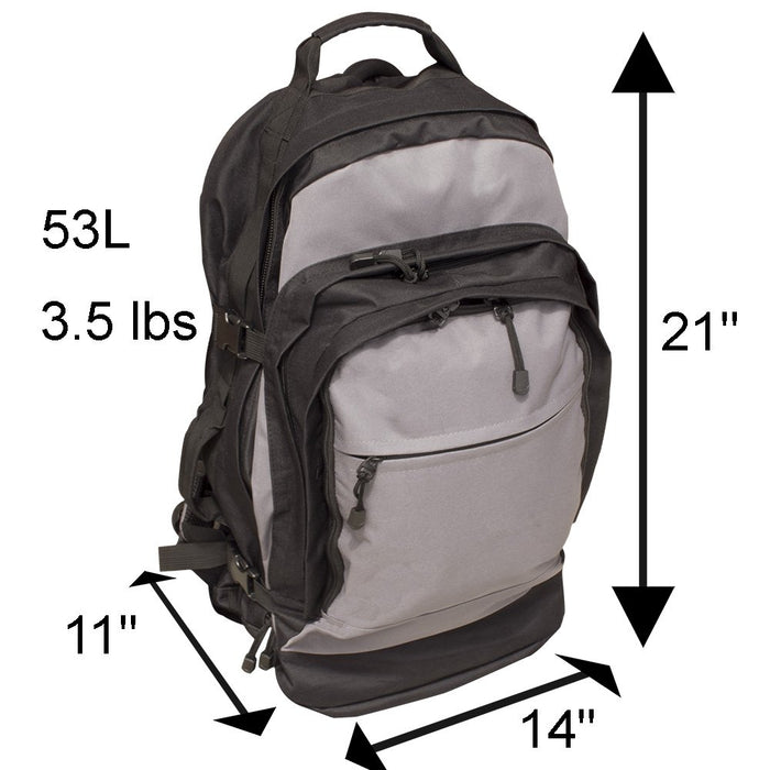 Elite Stealth Tactical Bug-Out Bag-2 Person - Emergency Zone