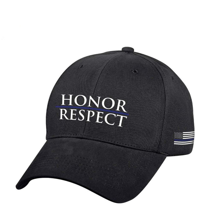 Rothco Thin Blue Line Honor & Respect Low Profile Cap