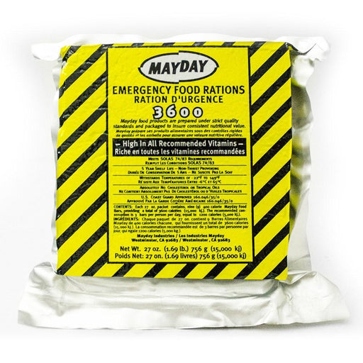 Mayday Food Bar 3600 Cal.-Case 20 - MayDay Industries