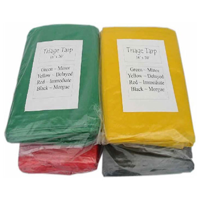 Triage Tarps Set of 4 16x20 - MayDay Industries