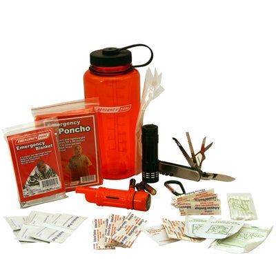 EZ Basic Survival Bottle - Emergency Zone