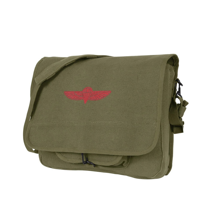 Rothco Canvas Israeli Paratrooper Bag | Luminary Global