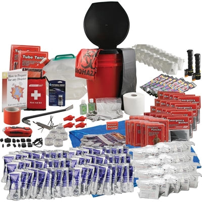 Office Emergency Survival Kit - 20 Person Kit - Emergency Zone