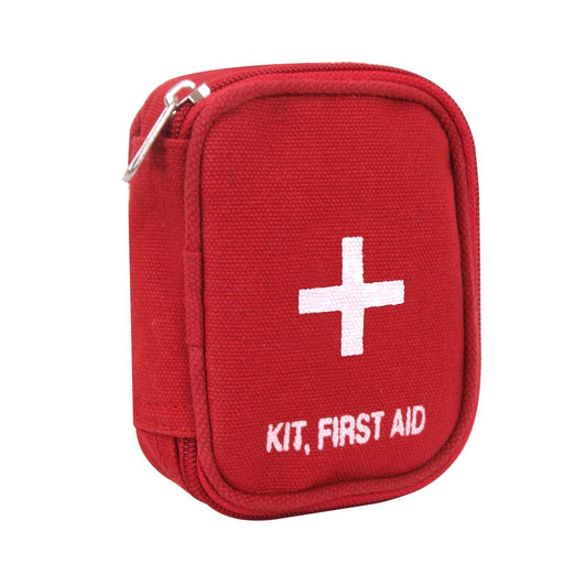 Rothco Military Zipper First Aid Kit PouchRed | Luminary Global