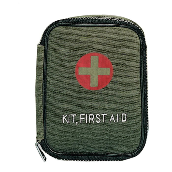 Rothco Military Zipper First Aid KitOlive Drab | Luminary Global