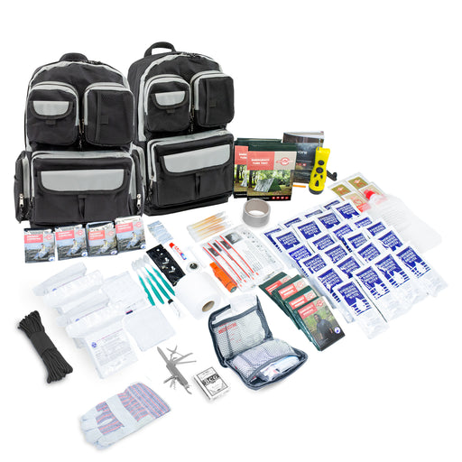 Urban Survival 4 Person Bug Out Bag (72-Hour) - Emergency Zone