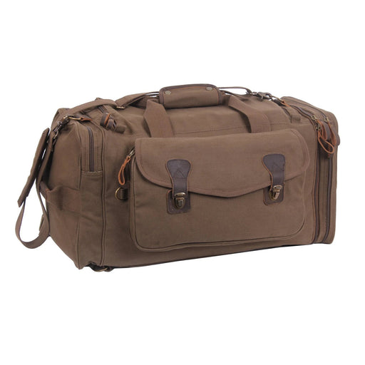 Rothco Canvas Extended Stay Travel Duffle Bag | Luminary Global