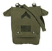 Rothco Canvas Map Case Shoulder Bag w/ Military Patches | Luminary Global