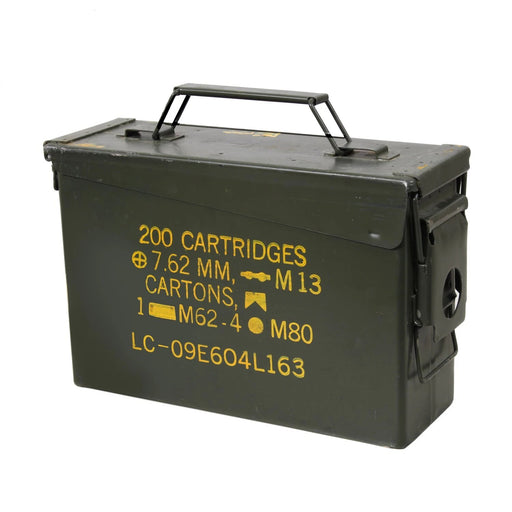 GI .30 & .50 Caliber Ammo Cans - Surplus | Luminary Global