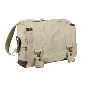 Rothco Vintage Canvas B-15 Pilot Messenger Bag | Luminary Global