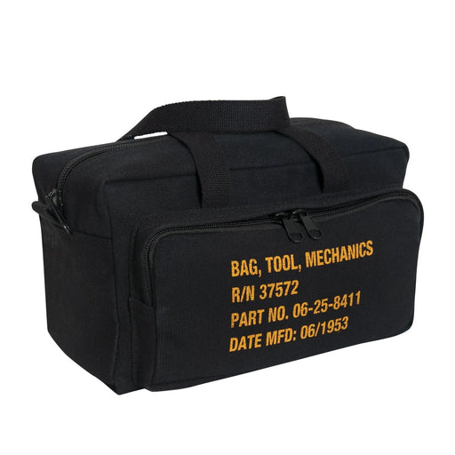 Rothco G.I. Type Zipper Pocket Mechanics Tool Bag With Military Stencil | Luminary Global