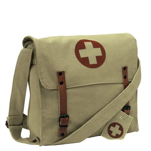 Rothco Vintage Medic Canvas Bag With Cross | Luminary Global