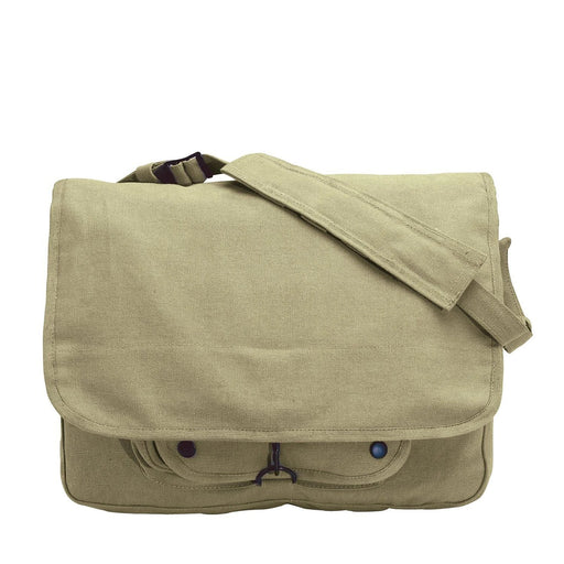 Rothco Vintage Canvas Paratrooper Bag | Luminary Global
