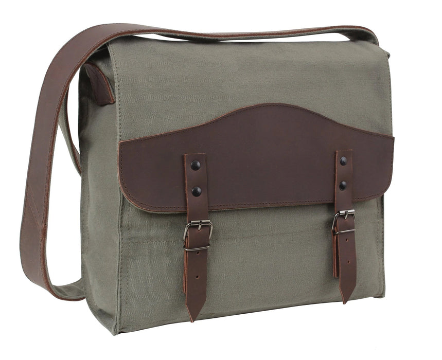 Rothco Vintage Canvas Medic Bag w/ Leather Accents | Luminary Global