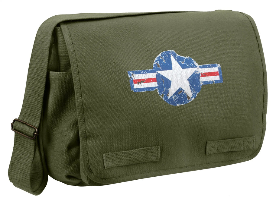 Rothco Air Corps Heavyweight Classic Messenger Bag  | Luminary Global