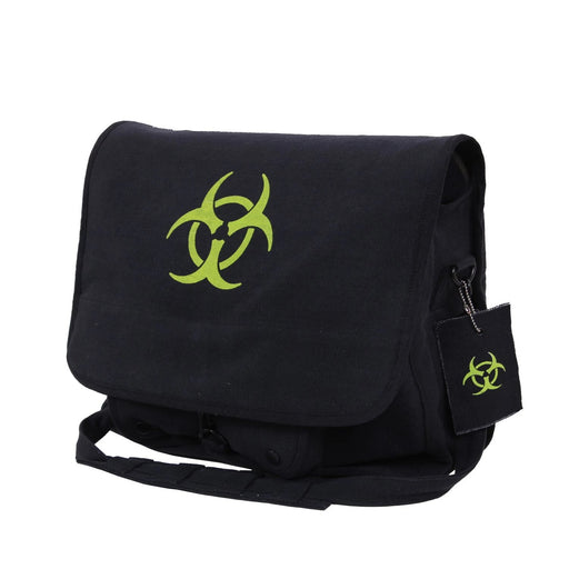 Rothco Bio-hazard Vintage Canvas Messenger Bag | Luminary Global